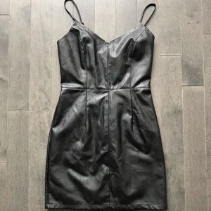 Urban Outfitters Faux Leather Dress